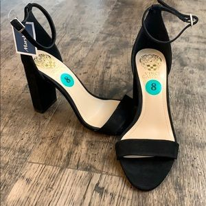 Vince Camuto Black Heels size 8 NWT